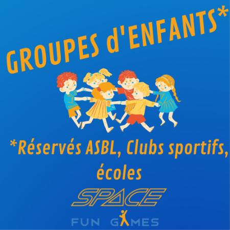 Activités pour les groupes d'enfants : ASBL, Écoles, CPAS, Assoc