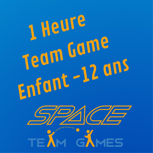 1 Hour of Team Games : Child 10 - 12 years old