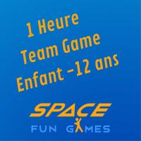 1 Uur van het Team Games: Kind 10 - 12 jaar oud
