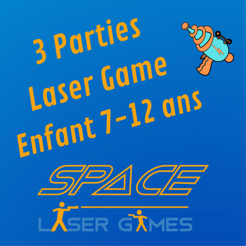 3 games of Laser Games: Child 7 - 12 years old
