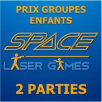 2 parties de Laser Game : TARIF ASSOCIATION/ASBL/CPAS à 13€