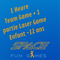 Multi-activiteiten | Teamspellen & Laserspellen: Kind 10 - 12 jaar oud