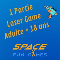 1 partie de Laser Games: Adulte +18 ans