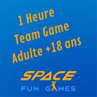 1 Heure de Team Games : Adulte +18ans