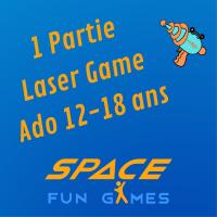 1 partie de Laser Games: Ado 13 - 18 ans / Etudiant <25 ans
